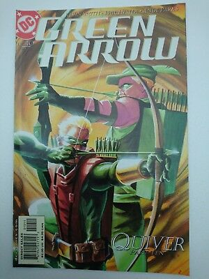 """GREEN ARROW #10, 2002, FN/VF 7.0, """"Quiver"""" concludes, Kevin Smith, Hester, Parks"""