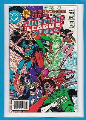 Justice League Of America #200_March 1982_Nm Minus_Star-Studded Spectacular!