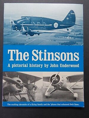 1983 80pg Aircraft Book - The Stinsons , by John Underwood - Exlnt Cond