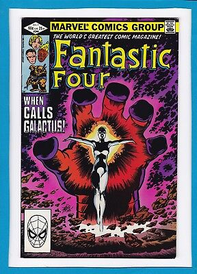 Fantastic Four #244_July 1982_Vf Minus_Galactus_Avengers_Signed By John Byrne!