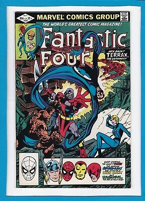 Fantastic Four #242_May 1982_Vf Minus_Terrax The Untamed_Signed By John Byrne!