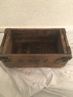 Vintage TNT Wood Box