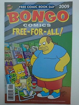 BONGO COMICS FREE-FOR-ALL!, 2009, VF/NM 9.0, FCBD, Simpsons, Futurama, Groening