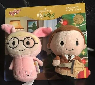 Hallmark Itty Bittys A Christmas Story. Ralphie & His Old Man!