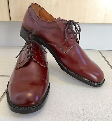 NWOB Loake Dark Brown  Leather Derby Shoes Size UK 9