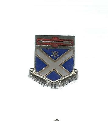 29Th Infantry Division 176Th Infantry Screw Back Crest/di Asmic #176 A-2