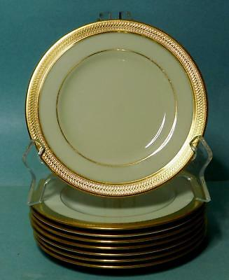 "8  Lenox Lowell  6 1/8"" Bread & Butter Plates  P-67  EXC Unused Cond."