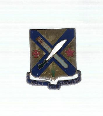 5Th Infantry Division 2Nd Infantry Pin Back Crest/di Asmic #2 A-4