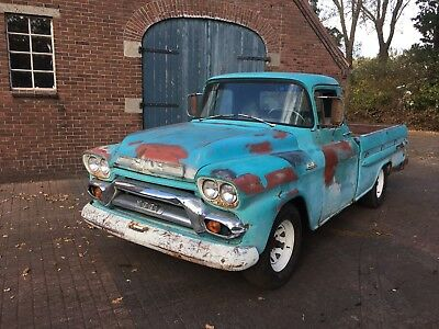 1959 GMC 100 truck / Chevrolet Apache Pick-up Bastler project! REAL PATINA