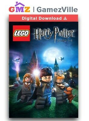 LEGO Harry Potter: Years 1-4 Steam Key PC Digital Download