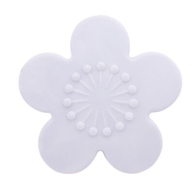 Silicone Wall Flower Anti Collision Mat Door Handle Bumper Guard Stopper Pad D