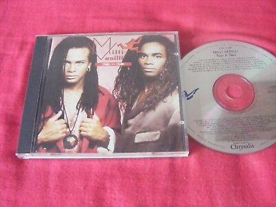 Milli Vanilli  - 2 x 2  - CD Album 18  TRACKS INC. GIRL YOU KNOW IT'S TRUE 80'S