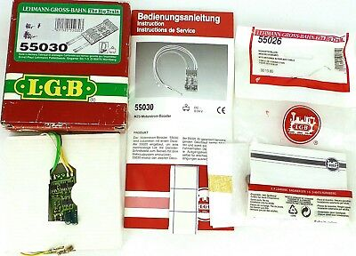 LGB 5030 Lego Motorstrom Booster Lehmann +55026 Connection Cable Ovp Μ