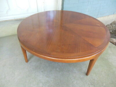 Vintage Lane Mid Century Rhythm Round Coffee Table 997 03 Mcm Altavista