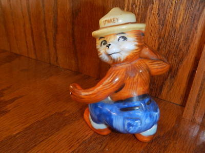 Smokey Bear Vintage Norcrest? Ceramic Smokey the Bear Figurine ~ A-18
