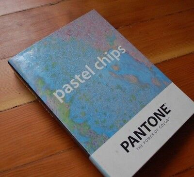 Pantone Solid Coated Uncoated Chip book PASTEL color specifier paint manual used