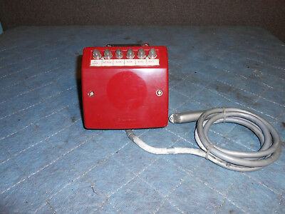 Western Electric 6040G Wall Key Set in RED