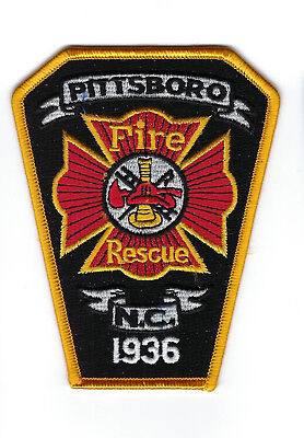 Pittsboro (Chatham County) NC North Carolina Fire Rescue Dept. patch - NEW!