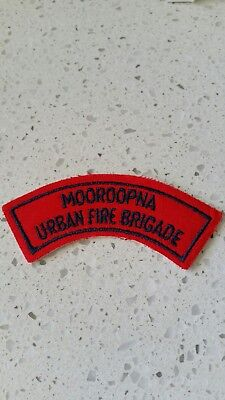 Mooroopna  Urban Fire Brigade .. Cfa .. Victoria  .. Patch