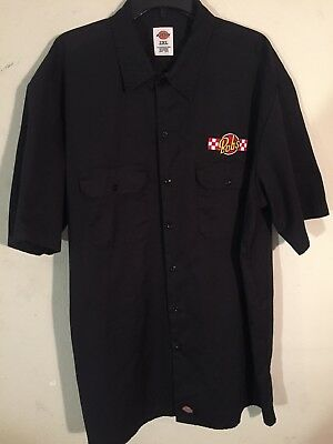 Vintage Bobs Big Boy Button Up T-Shirt From Original Restaurant Burbank CA