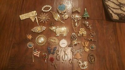 34 Piece Pretty Pin Lot