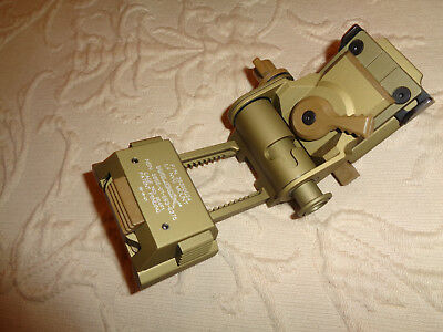 Wilcox L4 G24 Rhino Mount * Tan G24 (for NVG mounting to helmet) p/n 28300G24