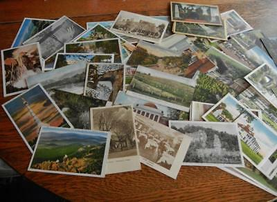 Postcard Lot  Of 85 Of The State Of Virginia  Various Towns And Sights