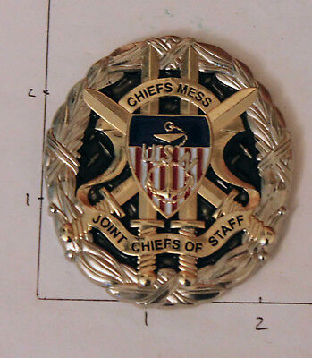 Joint Chiefs of Staff Pentagon Washington DC Navy Chief CPO Challenge Coin