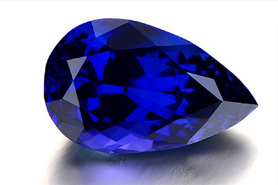 Gorgeous 12.66ct Top Color Blue 13x18mm Pear Shape Tanzanite AAAA+ Loose Gems