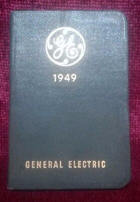Vintage 1949 General Electric Diary