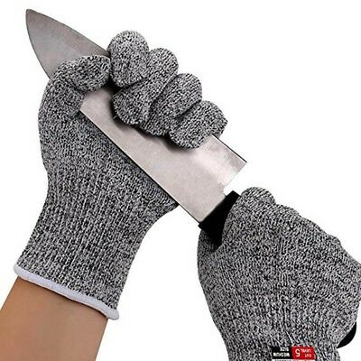 Food Grade Anti-Cutting Level 5 Kitchen Butcher Protection Cut Resistant Gloves