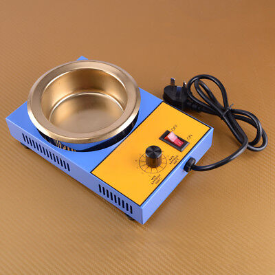 220V 300W 100MM Stainless Steel Solder Soldering Pot Desoldering Bath