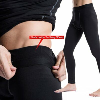 US Winter Pants Men Thermal Warm Long Johns Leggings Underwear Baselayer Bottoms
