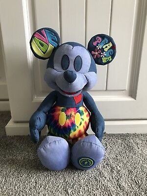 Disney Store Limited Edition Mickeys Memories June plush sold out