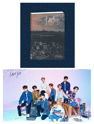 3rd Album [I am ver.] STRAY KIDS I am YOU CD+Poster+Blooklet+3QR Photocards+Gift