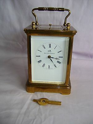 Matthew Norman Repeater Carriage Clock In Good Working Order Serviced Oct 2016