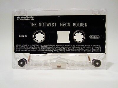 The Notwist - Neon Golden Promo Tape | Cassette | For Promotional Use Only