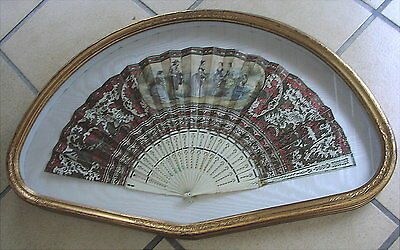 Alter Fächer um 1850 Old Fan