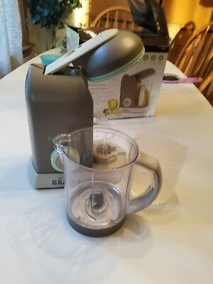 Beaba Babycook Pro Baby Food Maker and Steamer - Latte/Mint