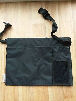 Crutch user? carry items with ease  .'The Hopper'(  apron style)