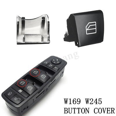 For Mercedes A B Class W245 W169 Window Switch Driver Side Left Button Cap Cover
