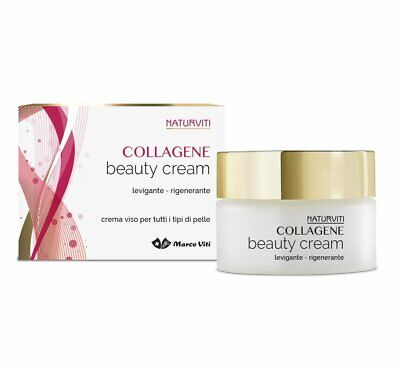 Crema Viso Naturviti Collagene Levigante Rigenerante  Beauty Cream