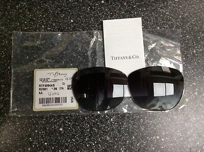 GENUINE NEW Tiffany 4094 Grey Gradient sunglass replacement lenses only