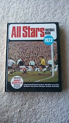 All Stars Football (Soccer) Book 1972-Edited by Jimmy Armfield