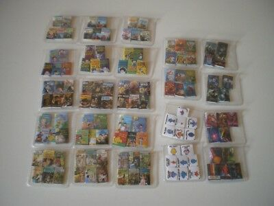 Dolls House miniatures - books, DVDs, albums - hand made