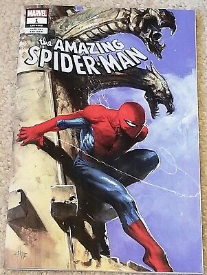 AMAZING SPIDER-MAN 1 LGY 802 V5 DELL OTTO LOGO VARIANT 1st NEW VILLAIN APPEARANC