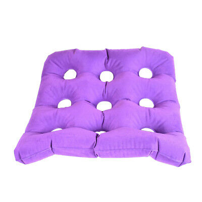 Air Inflatable Seat Cushion f Hemorrhoid Patients Coccyx Tailbone Pain Ease
