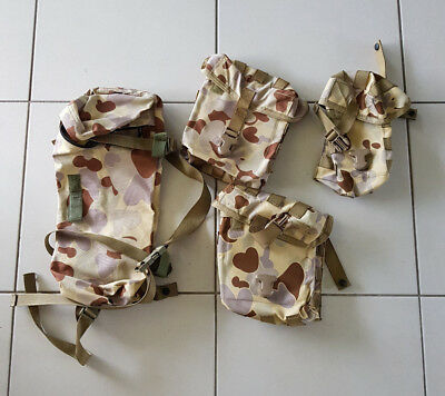 DPDU Pouches - Chest Rig / Webbing Set - EX Army Issue AUSCAM variant - NEW
