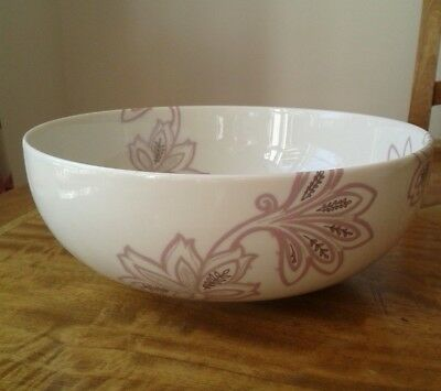 Denby Monsoon Chantilly Large Round Serving Bowl *New with Labels*