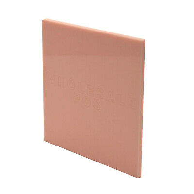 Baby Pink Acrylic Perspex Plastic Sheet Panel Material A5 A4 A3 3mm Thick 4522